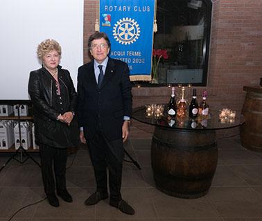 L'Acqui Rosé DOCG al Rotary Club di Acqui Terme