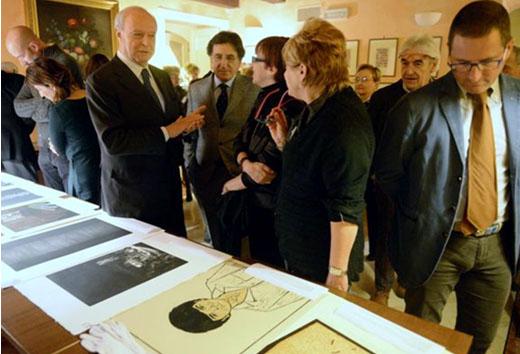 20 gennaio: il Rotary con la Biennale per l'Incisione